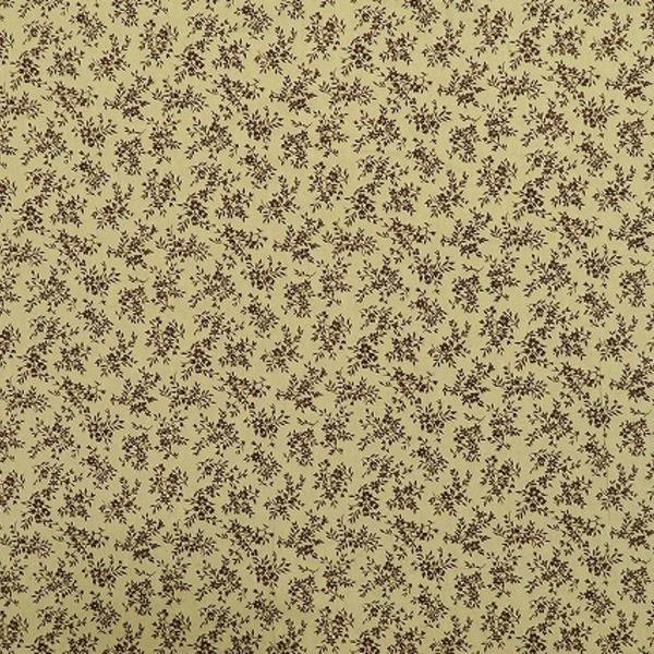 イタリー製  リネン100% プリント素材 (61347-75)